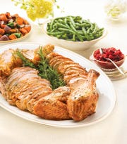 Wegmans offers a menu of holiday meals available for take-out.