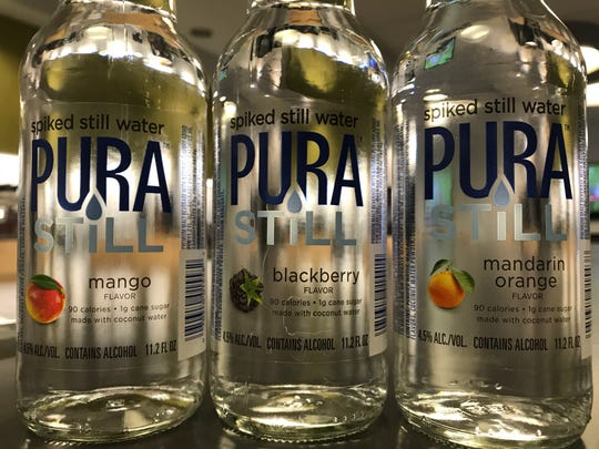 Pura Still, a spiked still water, is produced by Rochester's Genesee Brewery.