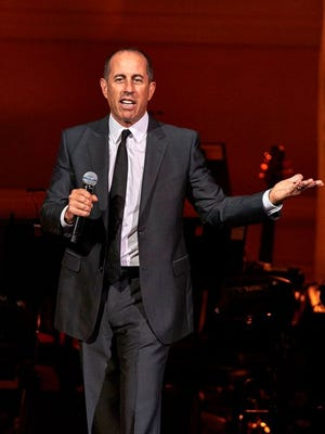Jerry Seinfeld has an April 19 show at Rochester's Auditorium Theatre. Tickets go on sale Nov. 16.