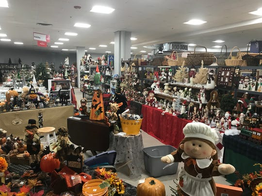 The Sale at Medley Centre and the holiday section