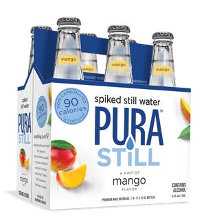 Pura Still, a new spiked still water from the parent company of the Genesee Brewery.