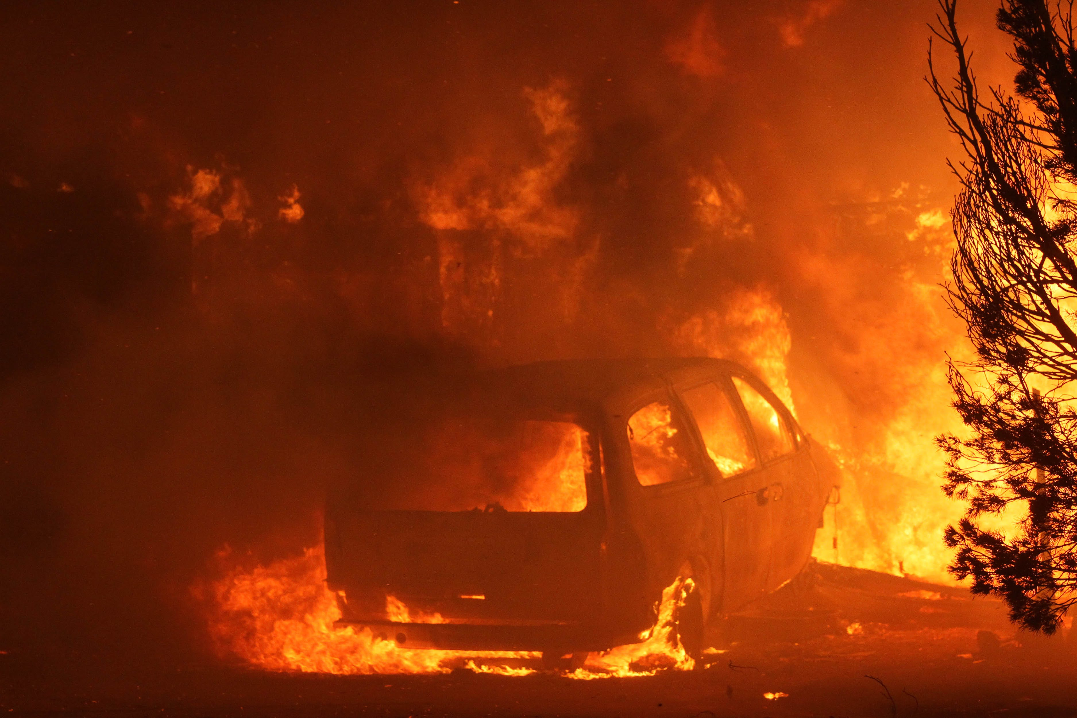 picture 8,000-Acre California Wildfire Drives Mass Evacuation