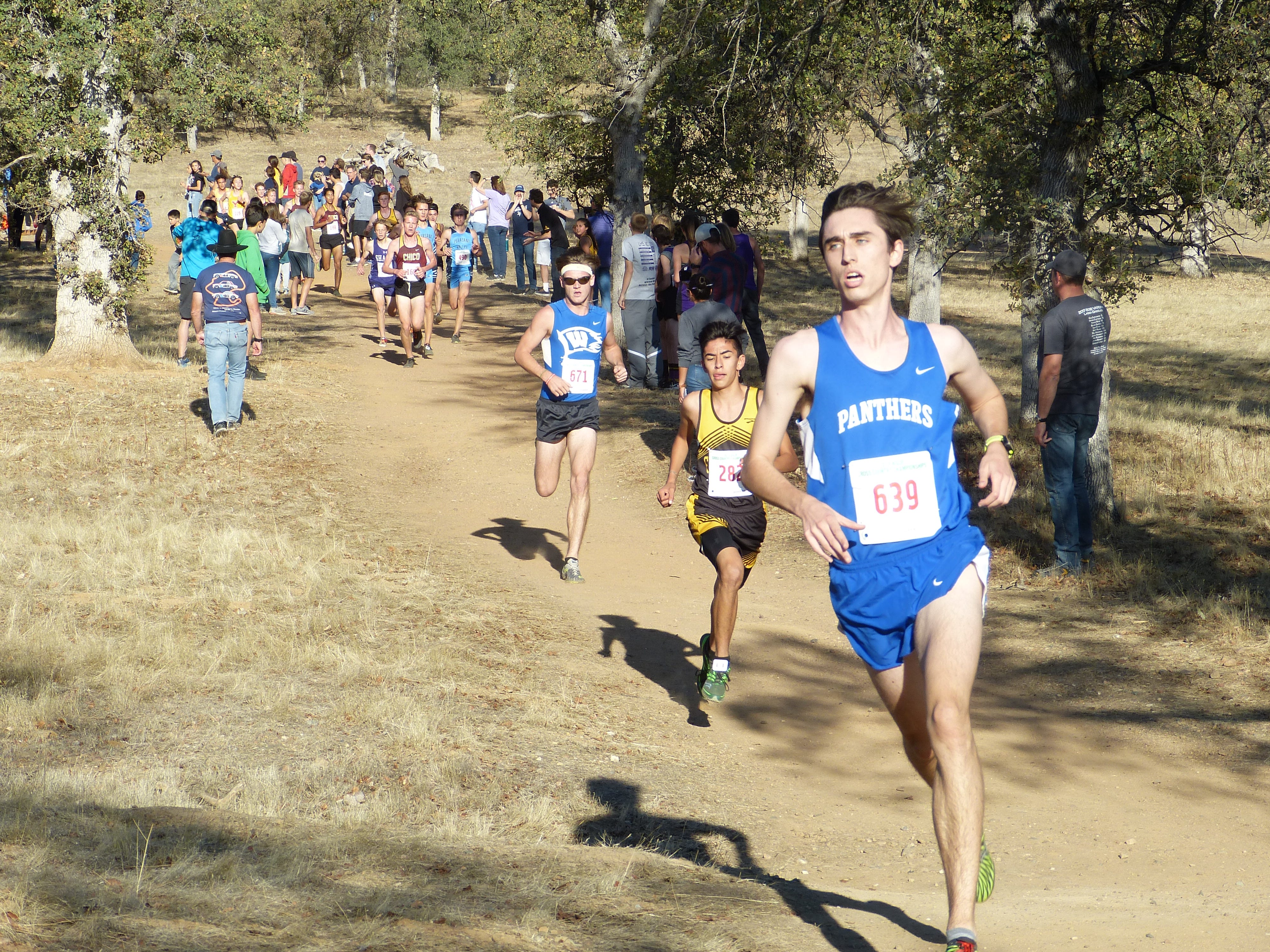 An estimated 634 cross country runners from 35 high schools around the North State competed in the Northern Section championships Thursday at West Valley High.