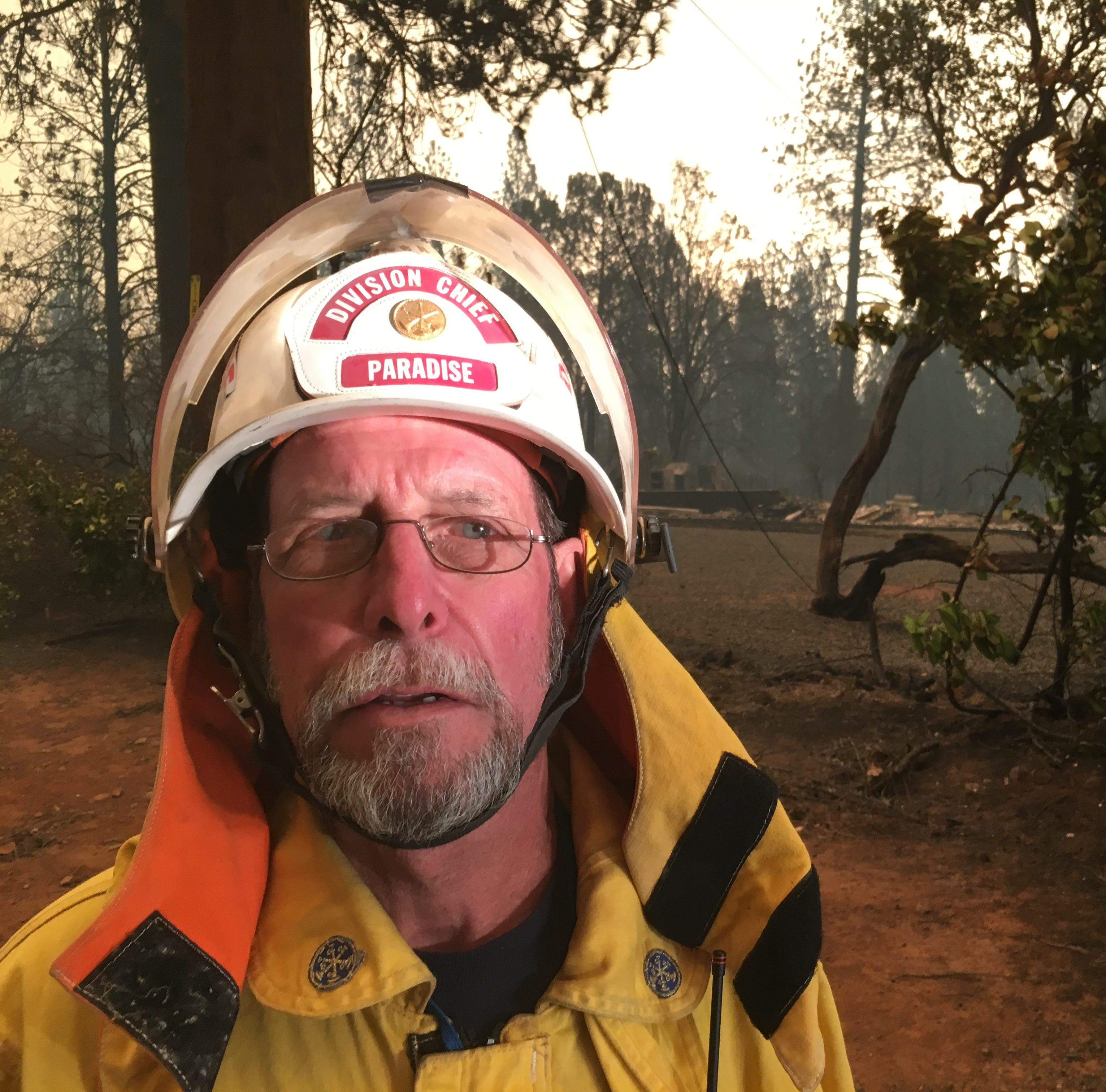 Camp Fire outran even the most seasoned: 'I'm about ready to lose it'
