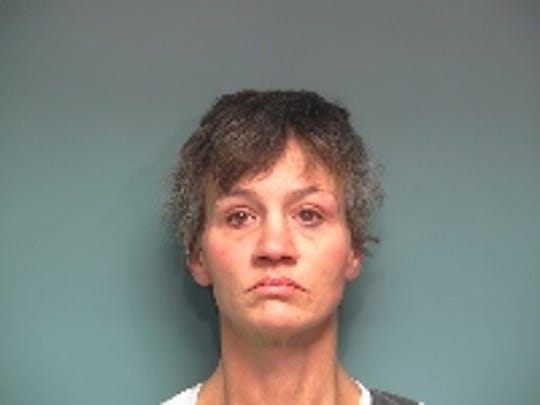 Misty Mahan, 44, was arrested during a drug bust at a Dallas home Thursday.