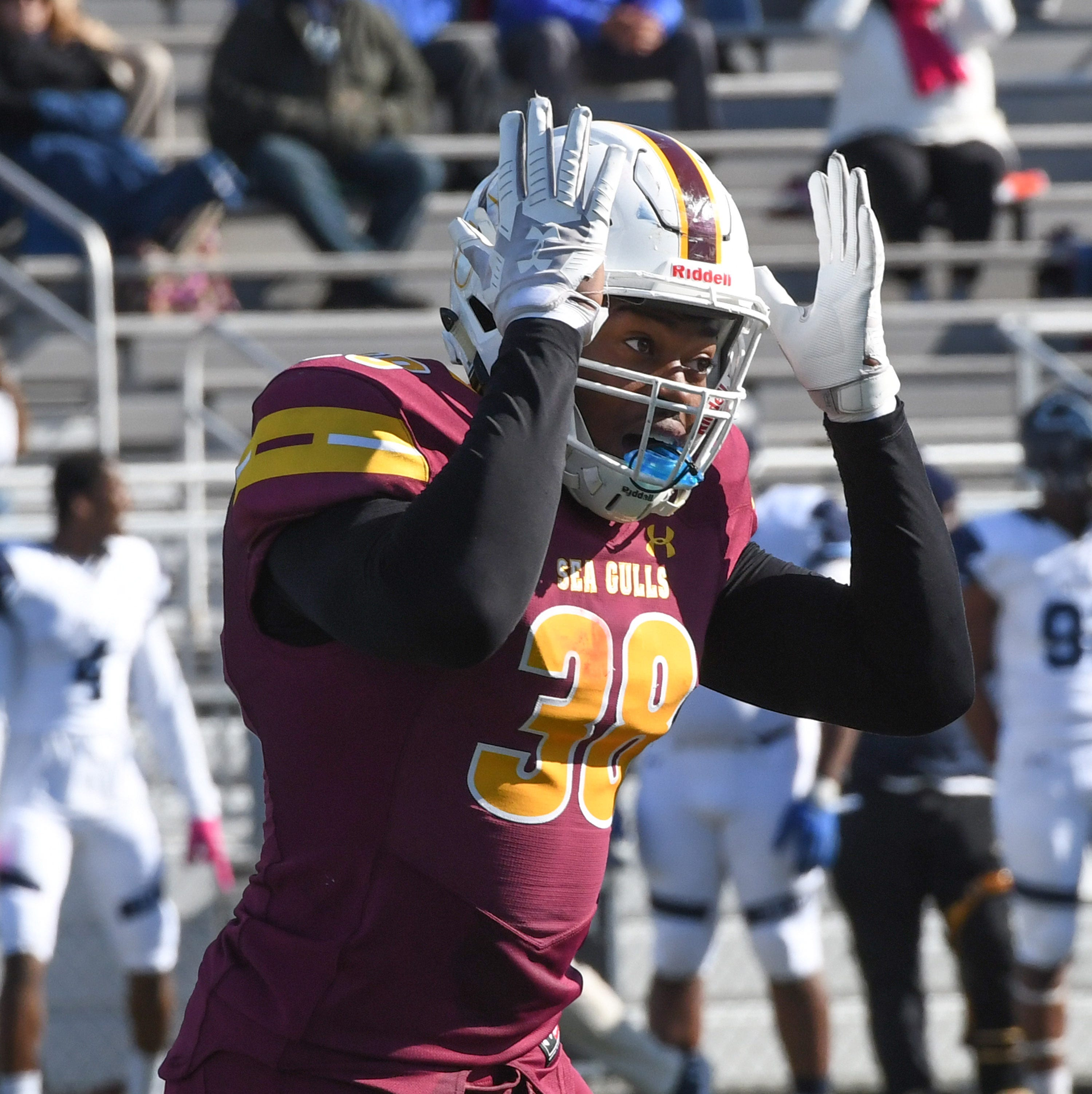 Former Parkside hoops player excelling on Salisbury University gridiron