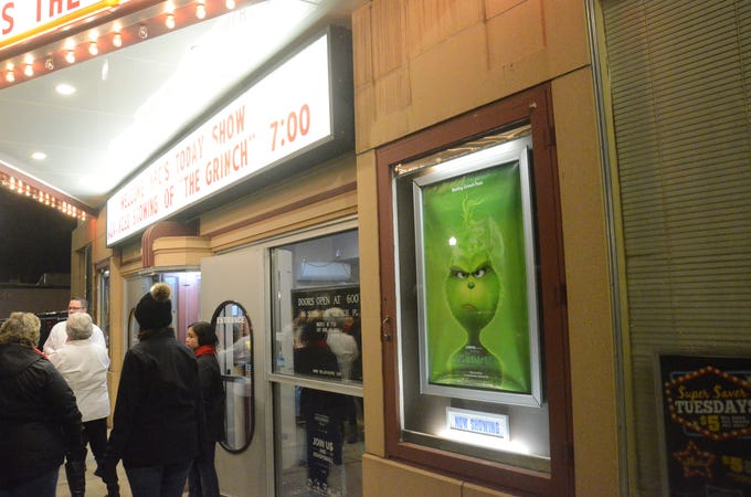 """Thursday had a special showing of """"The Grinch."""""""