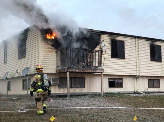 Rapid City Apartment Fire
