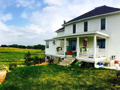 Heaven on the Prairie is a remodeled 1896 homestead near Britton.