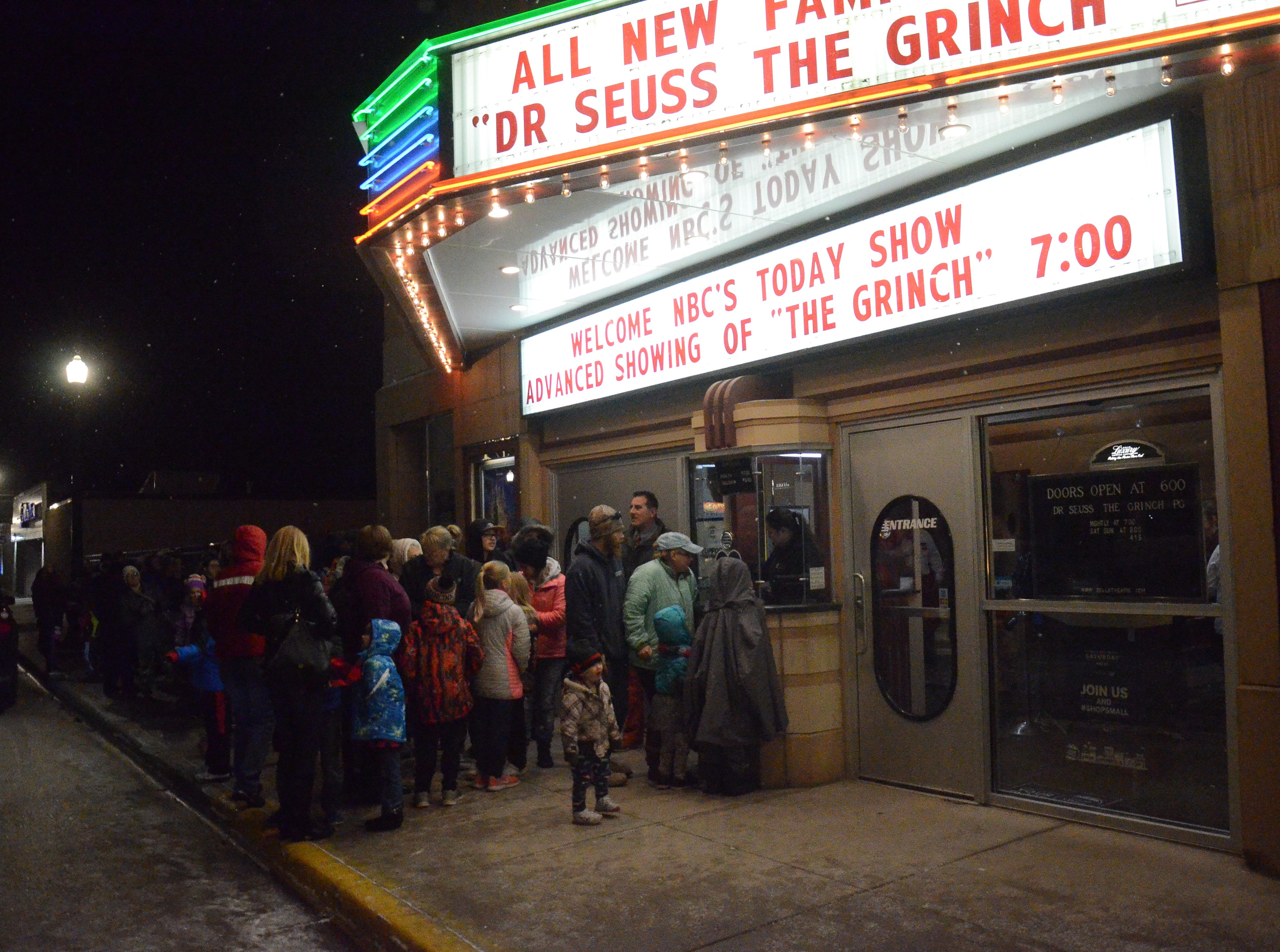 Dells Theatre shines up for 'Today' show arrival