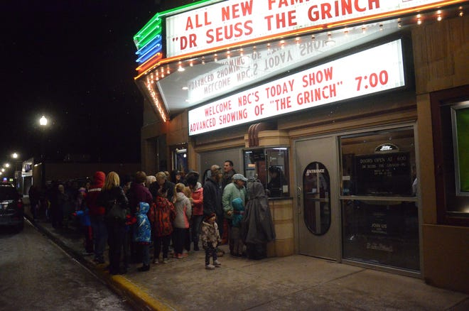 """A crowd gathered Thursday night at the Dells Theatre for NBC's filming of a segment for the """"Today"""" show."""