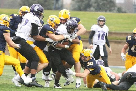 Augustana is 5-0 on the road this season