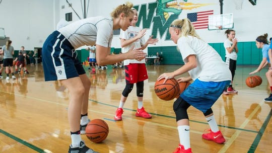 William Monroe senior Sam Brunelle, who has verbally committed to play basketball at Notre Dame, will be holding a one-day camp Saturday, Nov. 17.