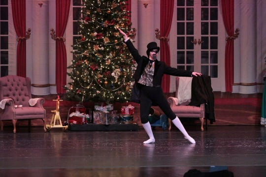 Performances of The Nutcracker begin at 7 p.m. Nov. 15 and 16and 2 p.m. Nov. 17 at the Paramount Center for the Arts.