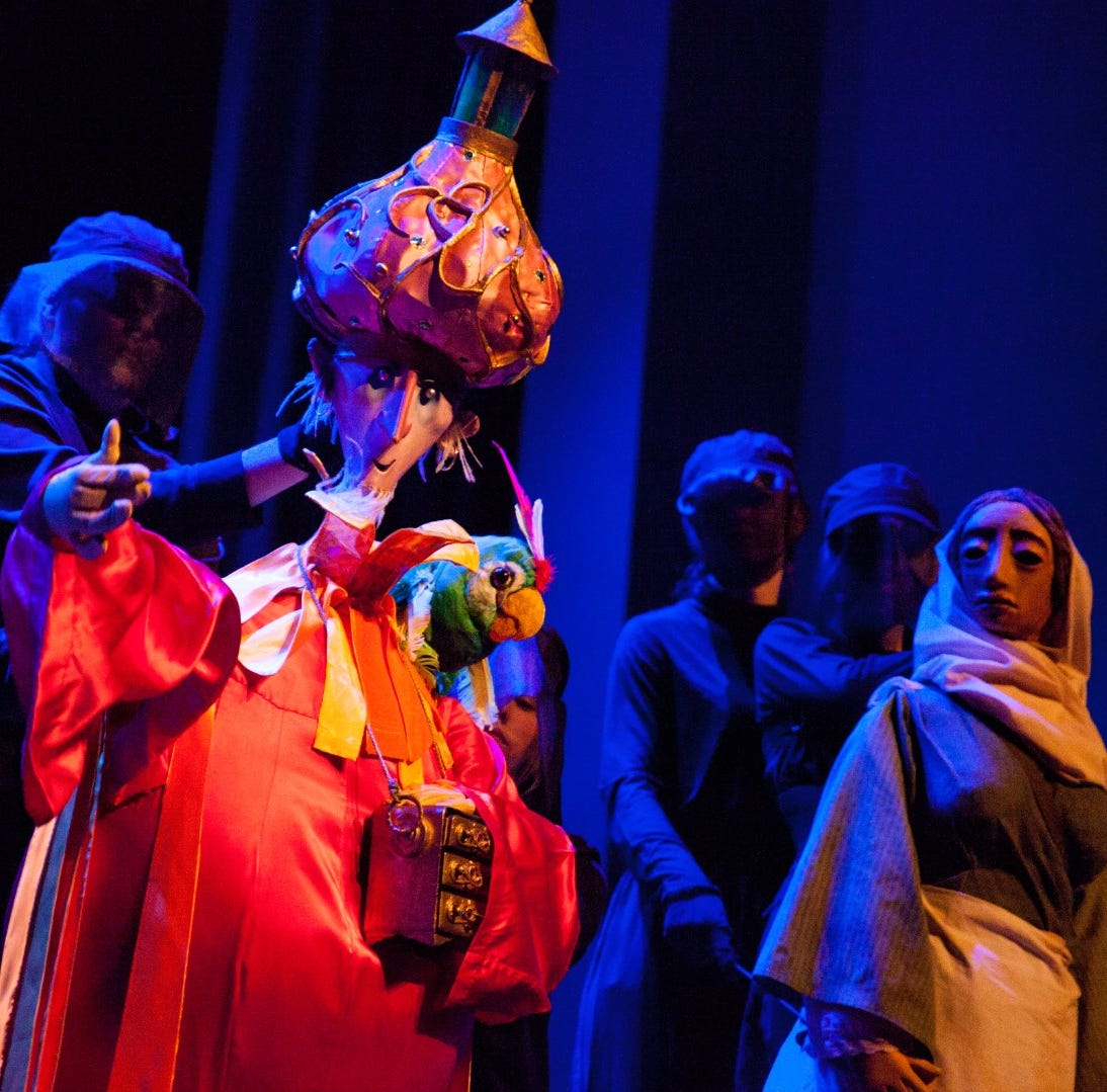 This Weekend: Identity artwork, puppetry and a Christmas classic