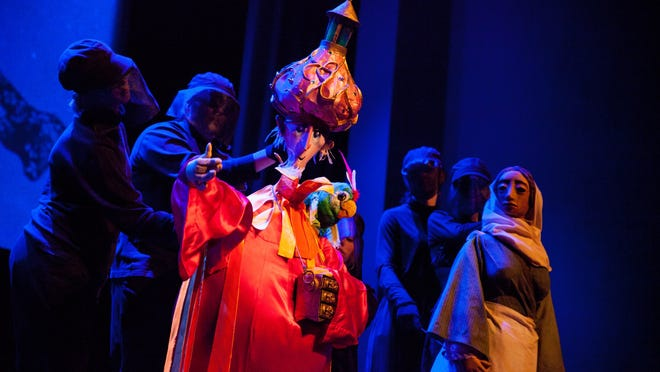 "Performances of ""Amahl and the Night Visitors"" begin at 7:30 p.m. Nov. 16 and 17 and 2 p.m. Nov. 18 in the Stephen B. Humphrey Theater at SJU."