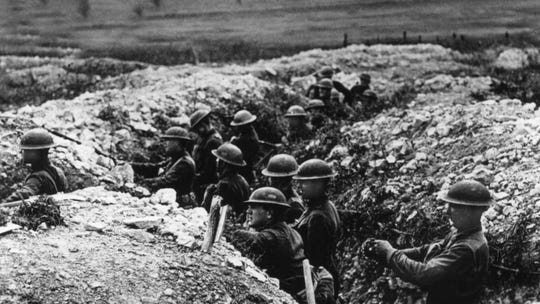 Most of World War I was fought in the trenches of Europe. No wonder Americans want to forget about it.