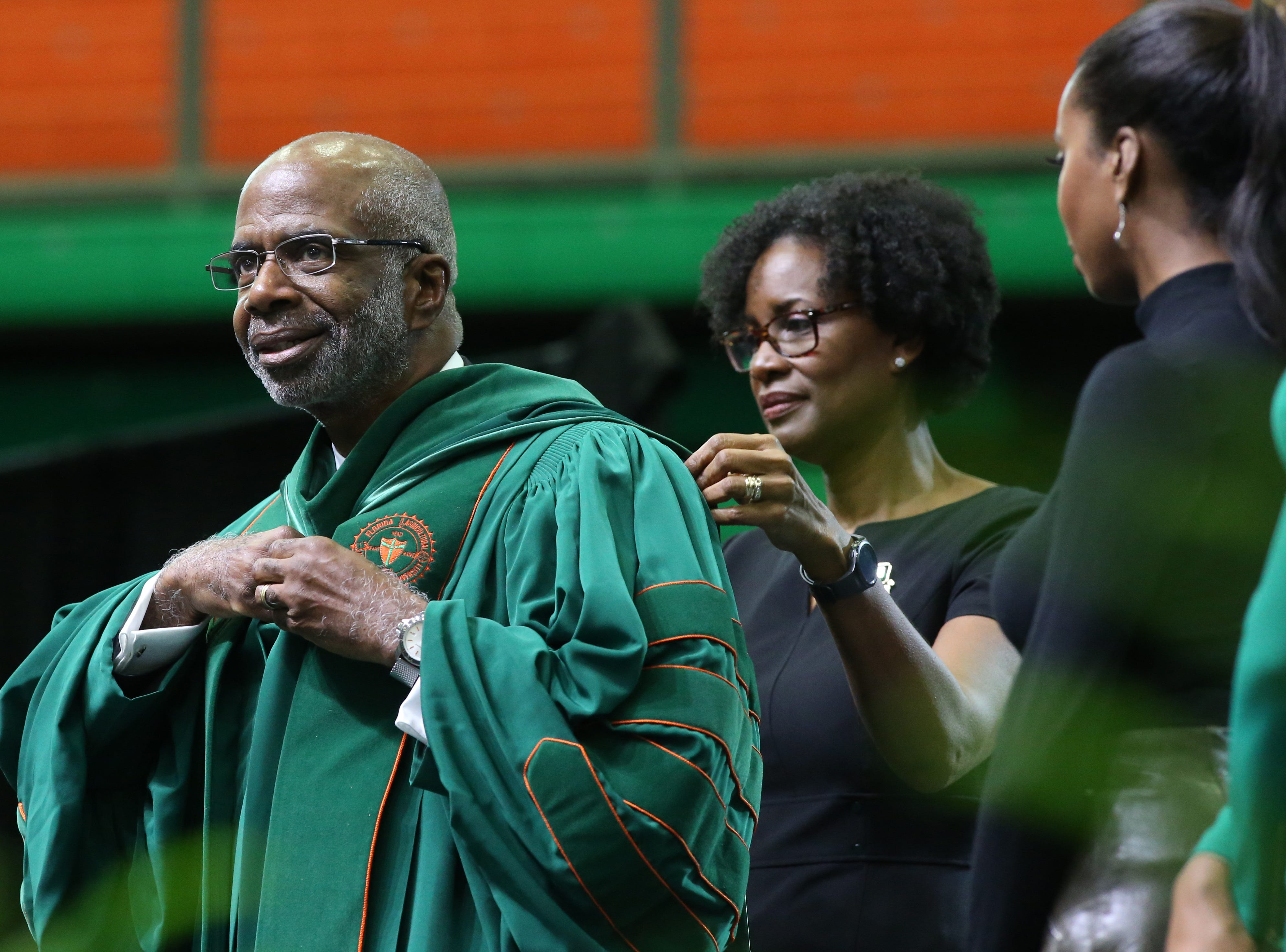 Robinson reigns at last: FAMU holds ceremony for inauguration of its 12th president