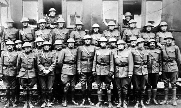 Tallahassee dough boys line up for a photo before the Great War in the early 20th century.