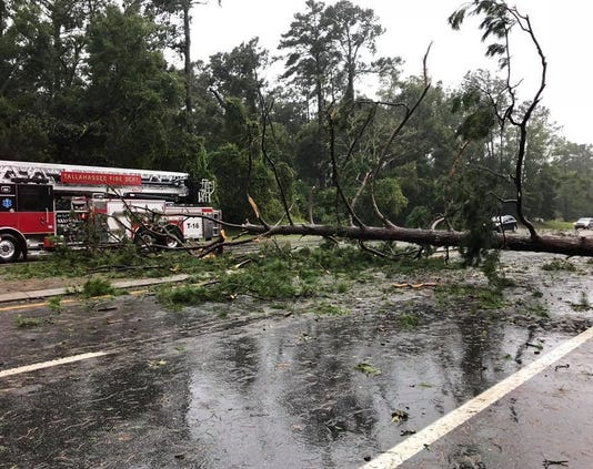 First Responders Clearing Our City After Hurricane Michael