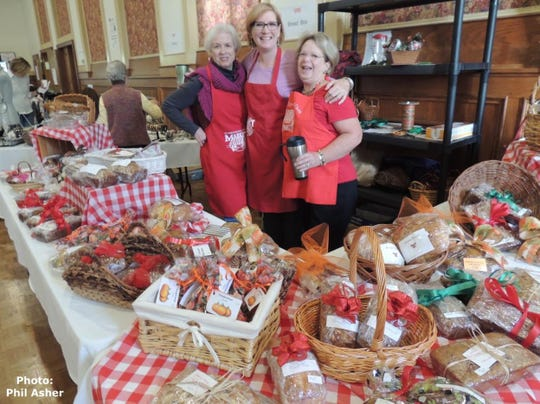 St. John's holds its an old-fashioned church bazaar on Nov. 17.