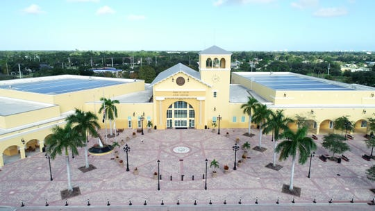 The Port St. Lucie Civic Center, 9221 S.E. Civic Center Place, is the centerpiece of City Center, which is along U.S. 1 and Walton Road. City officials have long envisioned the 21-acre tract of City Center as a downtown business district with entertainment venues, restaurants, shops, offices, apartments and a hotel.