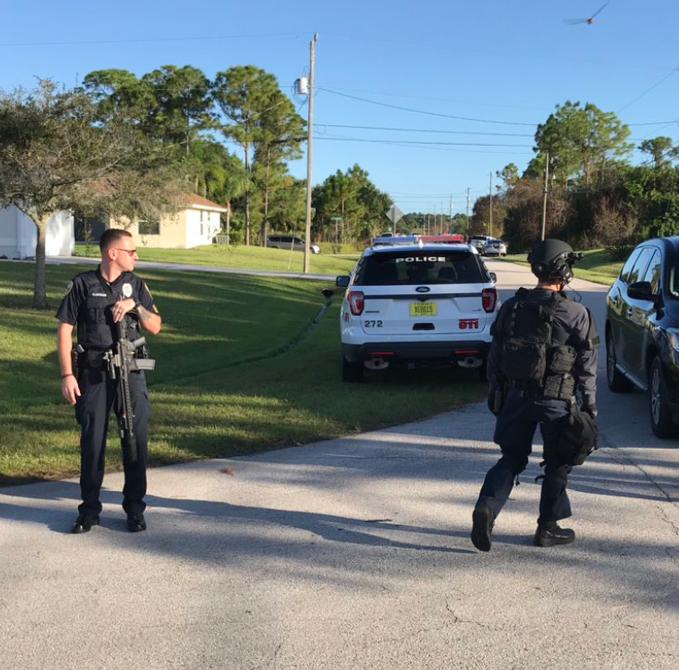 Port St. Lucie street closed after gunman confronts roommates, police say