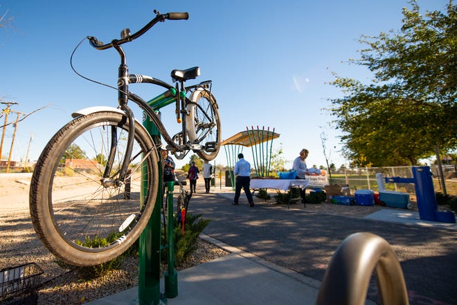 A new recreation trail opens Saturday with a grand opening in Riverside Park.