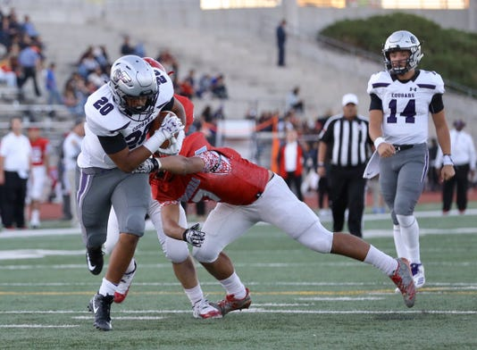 El Paso High School Football Franklin Wraps Up District Play With 5