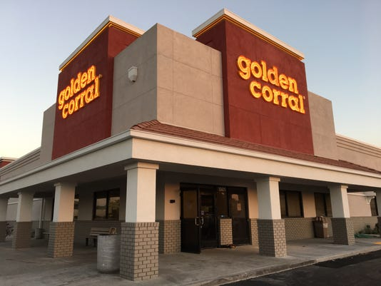 Golden Corral Neon Whole Building