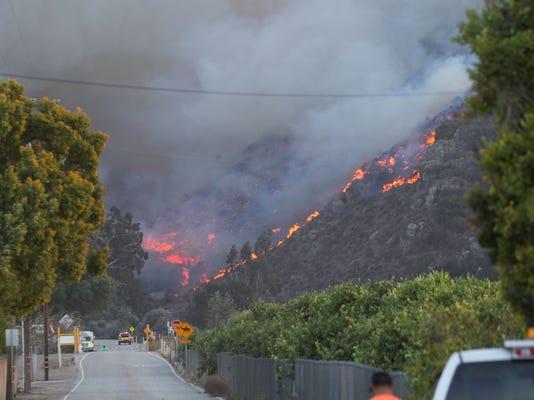 Hill Fire 1