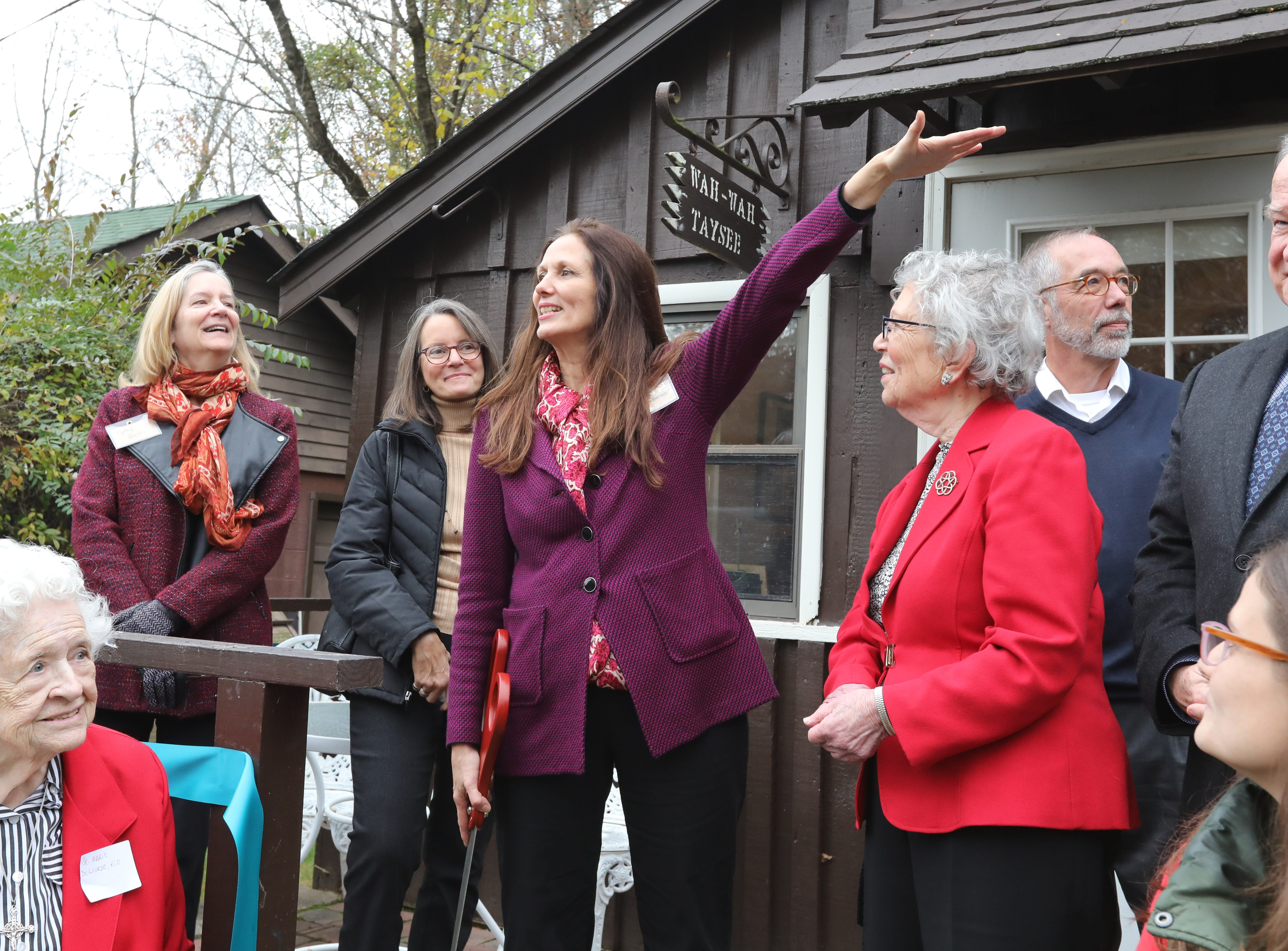An opening ceremony was held at Strawtown Studio's new home at the Marydell Faith and Life Center in Nyack Nov. 9, 2018. Strawtown Studio runs arts and ecology programs for children and young adults.