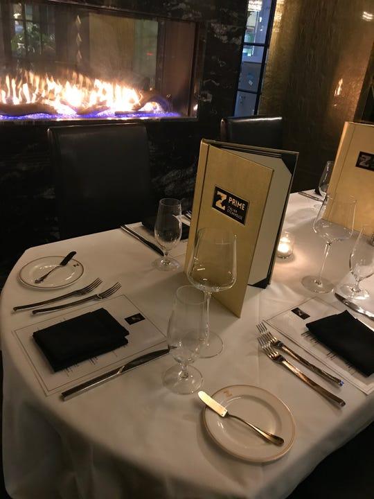 Your table awaits... the interior of Z Prime Italian Steakhouse in White Plains. The restaurant opened Nov. 1, 2018.