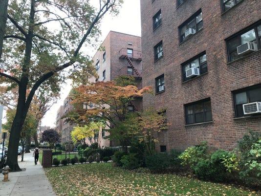 White Oak Street co-op buildings in New Rochelle