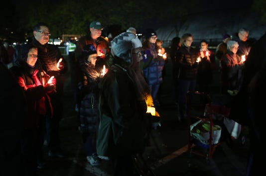 Candlelight Vigil In Mamaroneck