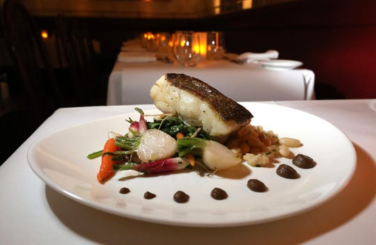 Seared Icelandic cod at the Hudson House in Nyack Nov. 9, 2018.