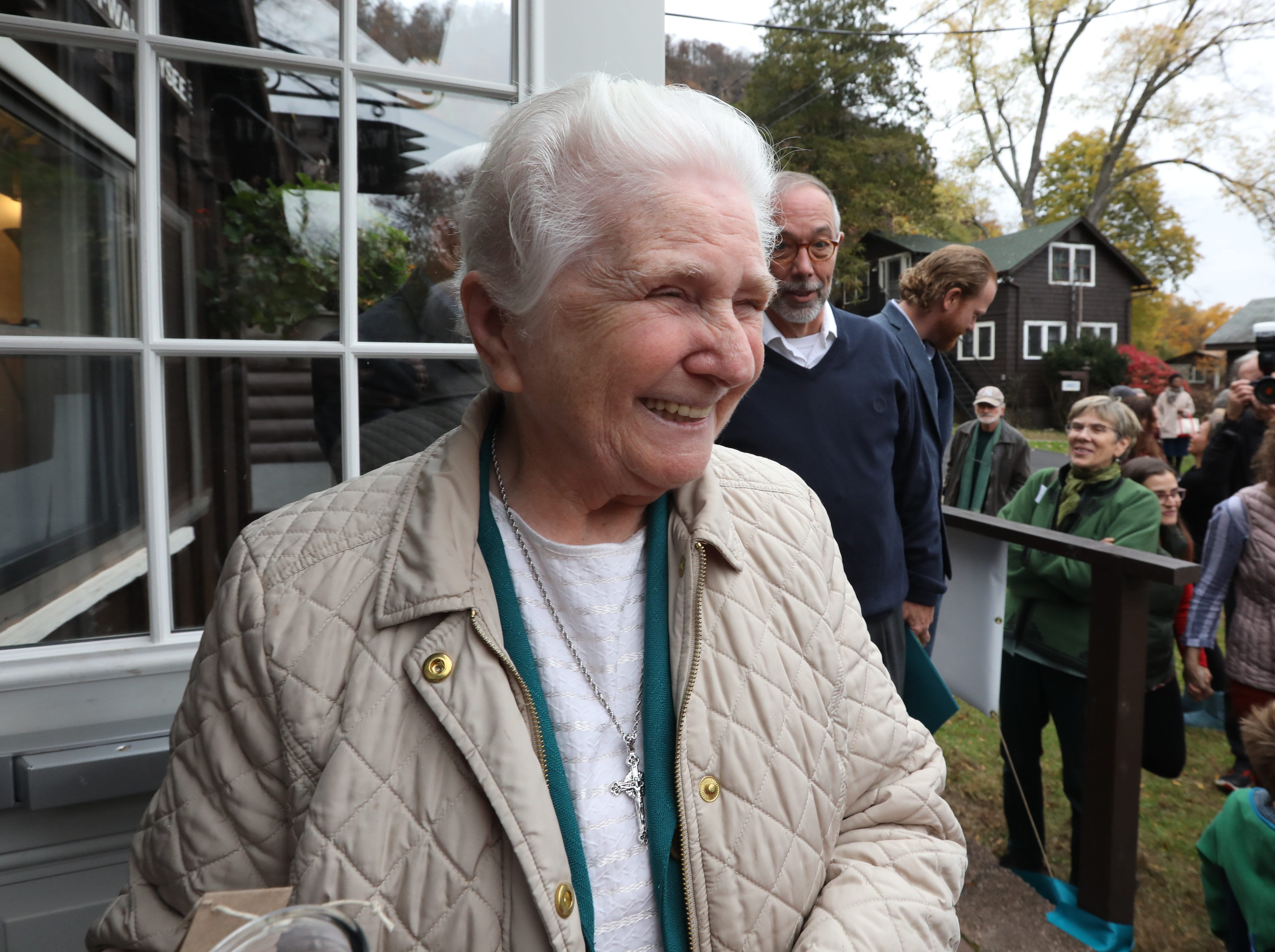 Sr. Eileen O'Farrell of Marydell at Strawtown Studio's new home at the Marydell Faith and Life Center in Nyack Nov. 9, 2018. Strawtown Studio runs arts and ecology programs for children and young adults.