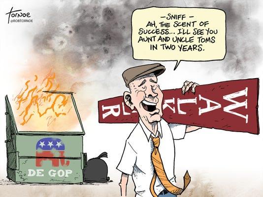 Tornoe Dumpster Fire