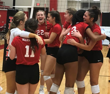Christ Academy Warriors win TAPPS 1A volleyball for program's second championship