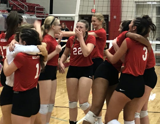 Christ Academy won the TAPPS 1A State Championship Friday with a 24-26, 25-10, 25-8, 25-15 win over Bellville Faith.