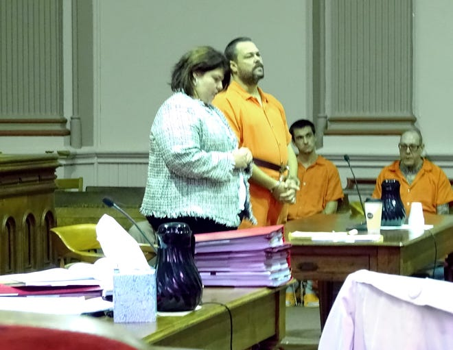 John Greiner, represented by Kendra Kinney, pleaded guilty to 16 counts of rape and kidnapping.