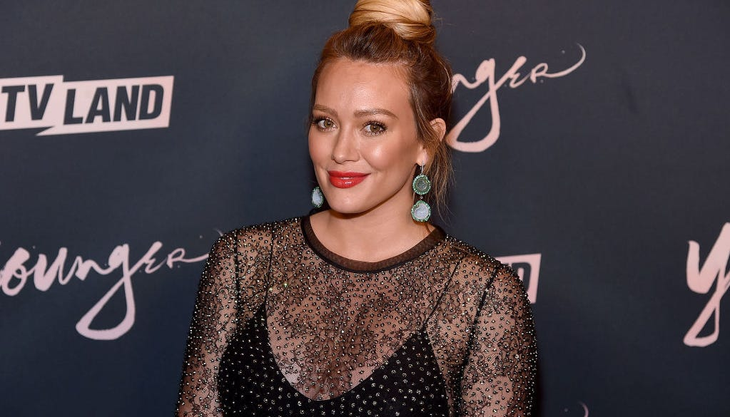Hilary Duff drank her placenta in a smoothie following birth of daughter, Banks