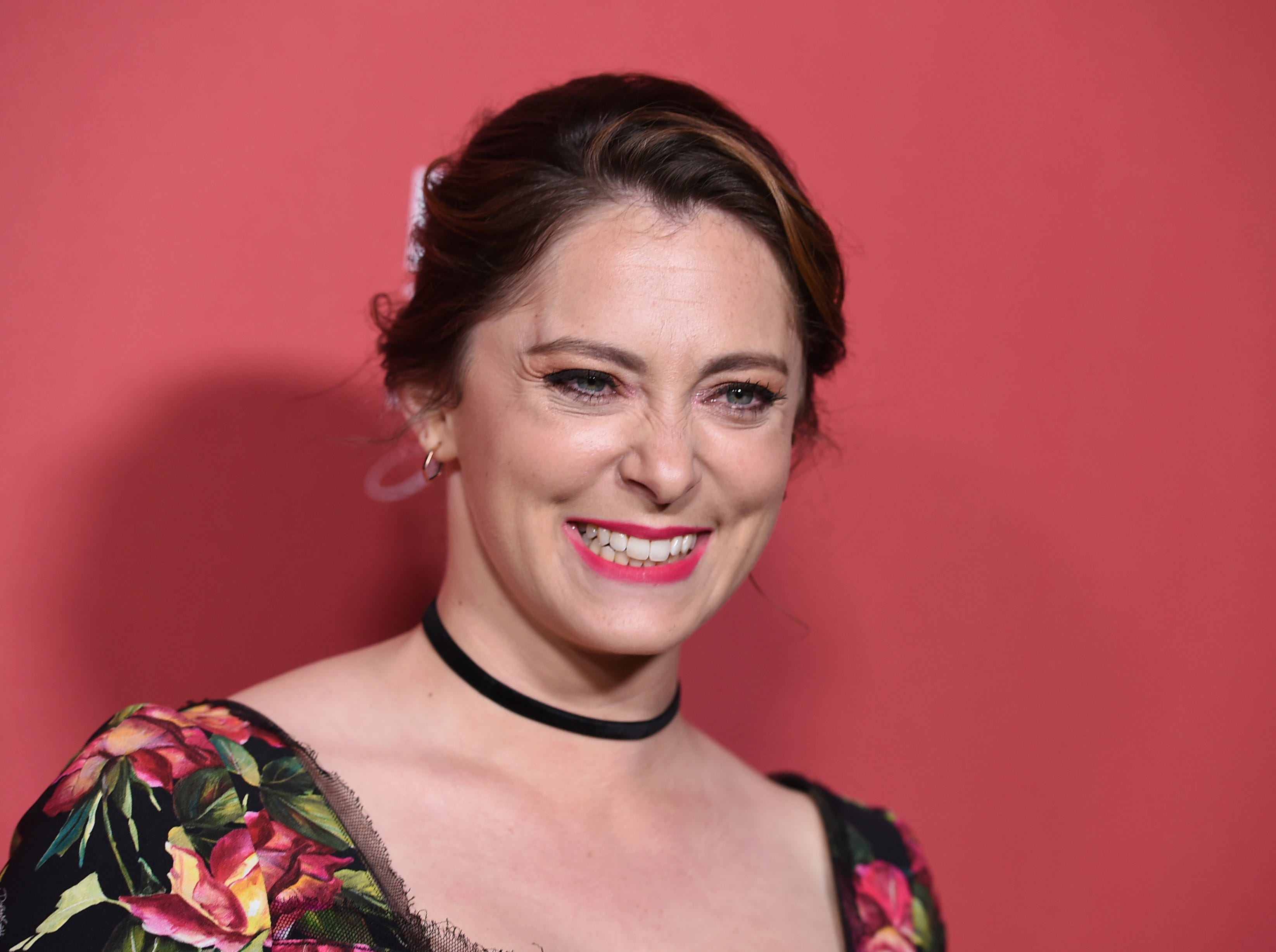 Rachel Bloom arrives at the Patron of the Artists Awards on Thursday, Nov. 8, 2018, at the Wallis Annenberg Center for the Performing Arts in Beverly Hills, Calif. (Photo by Jordan Strauss/Invision/AP) ORG XMIT: CAPM159