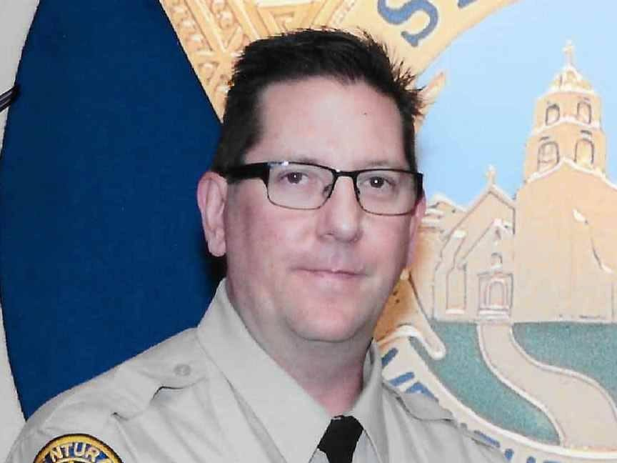 Sgt. Ron Helus, of the Ventura County Sheriff's Office, died after being shot while responding to a mass shooting at the Borderline Bar & Grill in Thousand Oaks, Calif., Nov. 8, 2018. [Via MerlinFTP Drop]