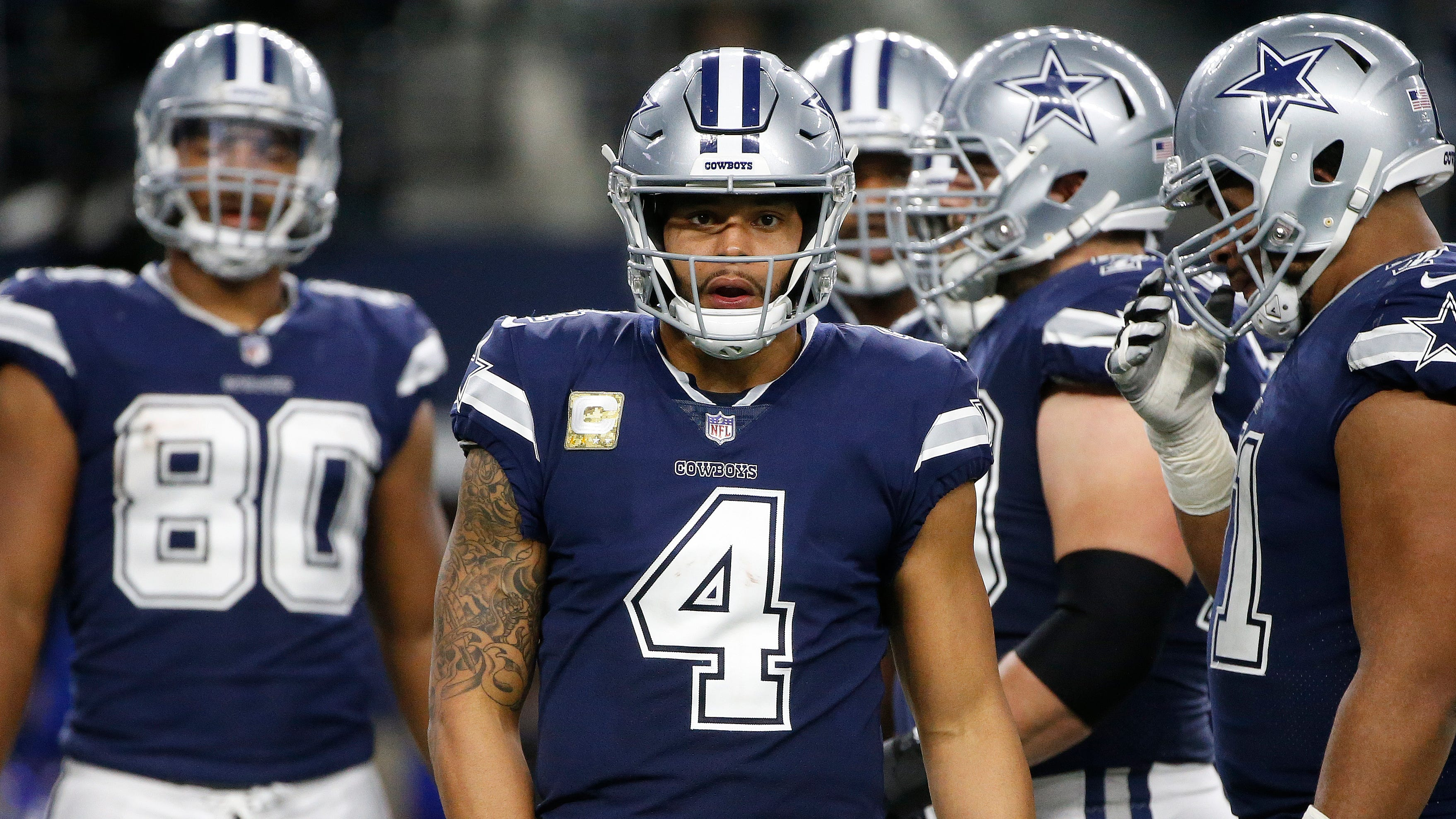 With a humbling loss Monday night still fresh in their minds, the Cowboys are practicing angry in preparation for Sunday night's game vs. the Eagles.