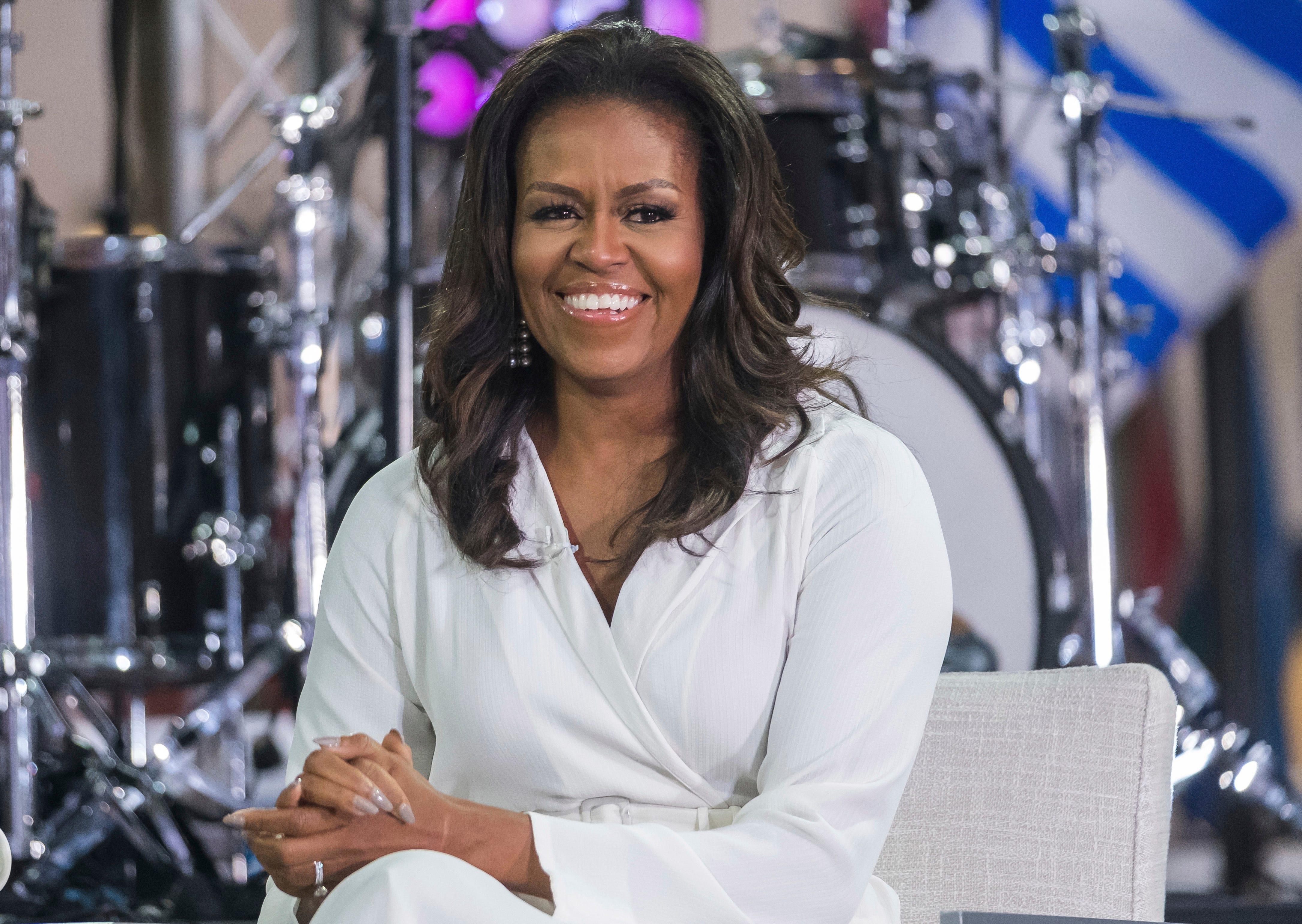 Michelle Obama reveals she struggled to conceive, used IVF to have Malia and Sasha