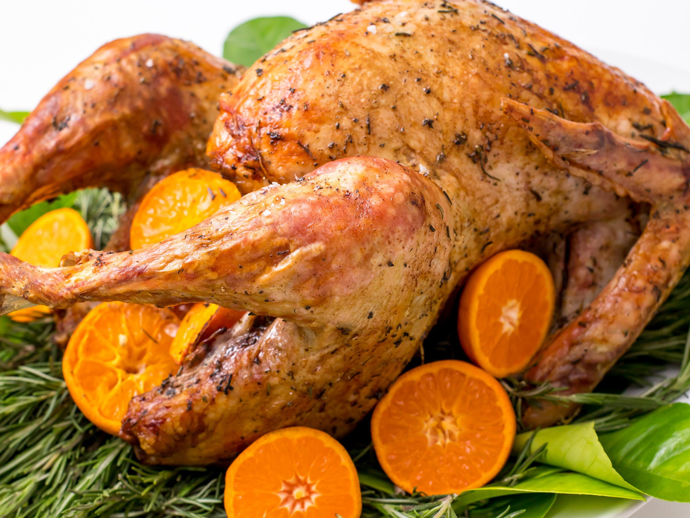 The best foods are simple foods. This recipe for grilled turkey with rosemary butter, inspired by Dinners for a Year and Beyond, shows you how to cook a turkey perfectly with just four simple ingredients.