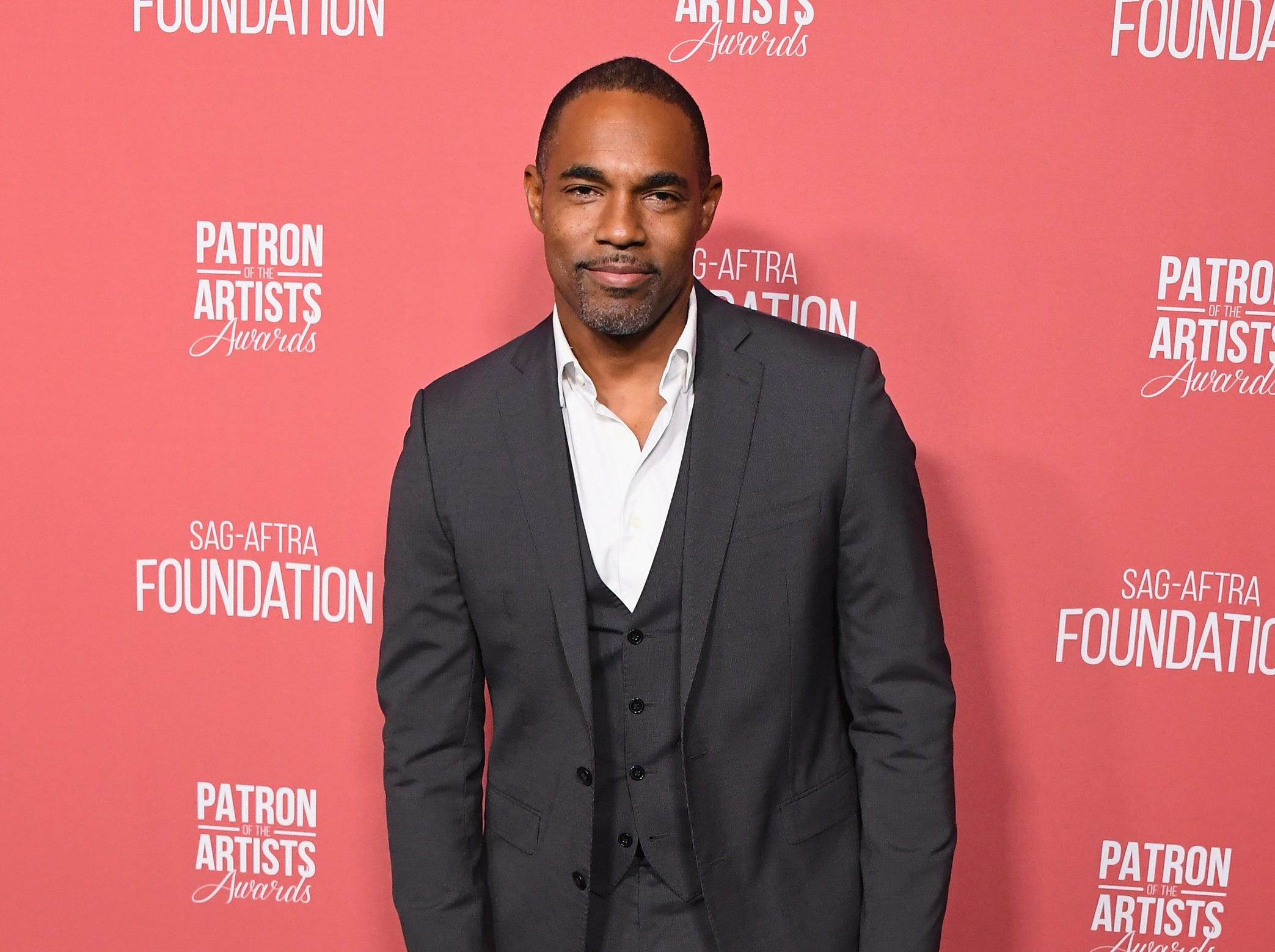 BEVERLY HILLS, CA - NOVEMBER 08:  Jason Winston George attends SAG-AFTRA Foundation's 3rd Annual Patron Of The Artists Awards at Wallis Annenberg Center for the Performing Arts on November 8, 2018 in Beverly Hills, California.  (Photo by Jon Kopaloff/FilmMagic) ORG XMIT: 775233471 ORIG FILE ID: 1059466906