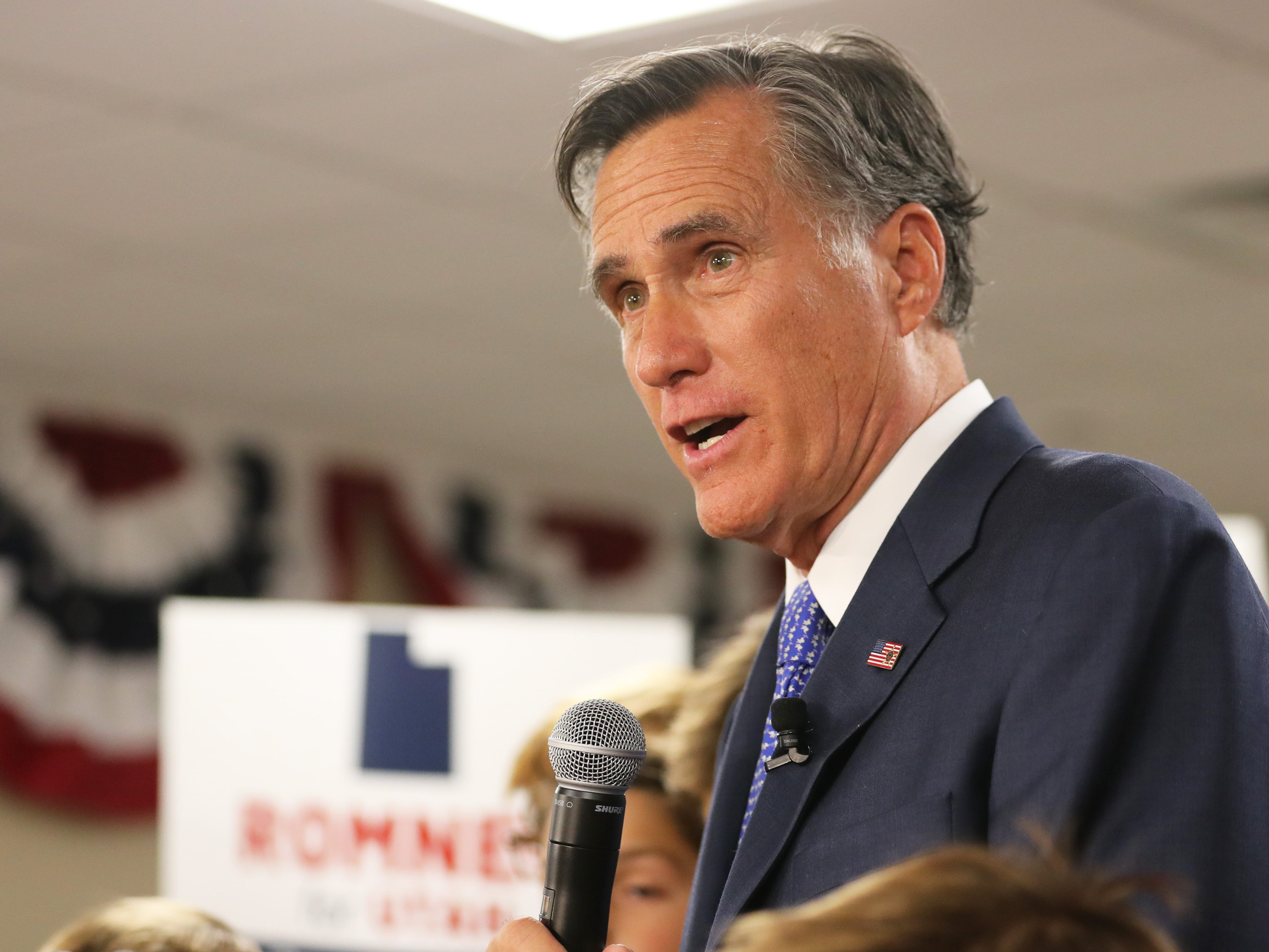 Romney: Trump is wrong to vilify the press. It's not the enemy, it's critical to democracy.