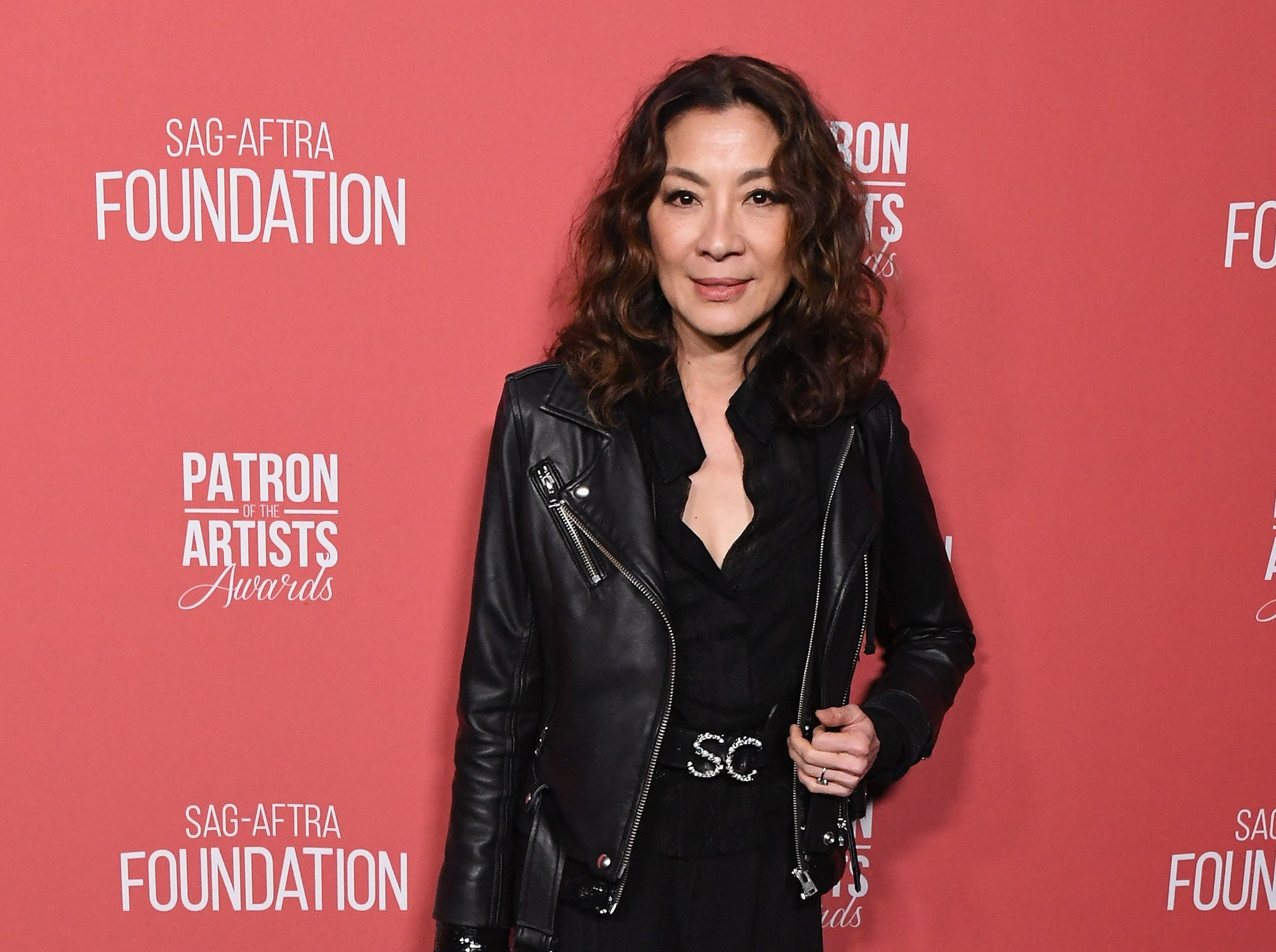 BEVERLY HILLS, CA - NOVEMBER 08:  Michelle Yeoh attends SAG-AFTRA Foundation's 3rd Annual Patron Of The Artists Awards at Wallis Annenberg Center for the Performing Arts on November 8, 2018 in Beverly Hills, California.  (Photo by Jon Kopaloff/FilmMagic) ORG XMIT: 775233471 ORIG FILE ID: 1059469170